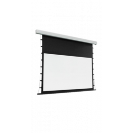 شاشة اسقاط بروجكتر 150 بوصة -تدعم 4K- متحركة- ابيض - ريموت تحكم - موتور صلب
