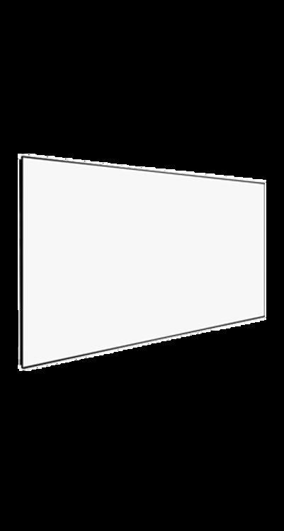 شاشة اسقاط بروجكتر 150 بوصة - ثابته - ابيض